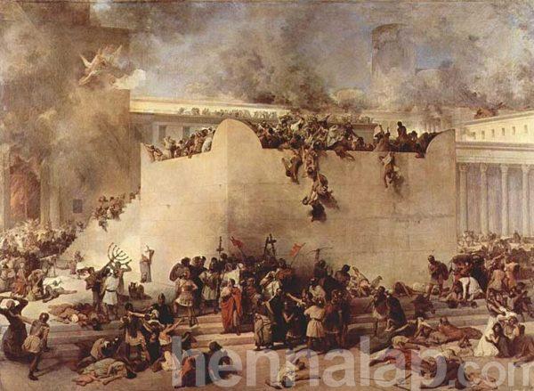 Francesco Hayez: A jeruzsálemi templom megsemmisítése