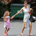 Halle Berry and Daughter Nahla Get Inked…With Henna Tattoos!