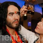 Russell Brand gets a bridal henna tattoo ahead of wedding to Katy Perry