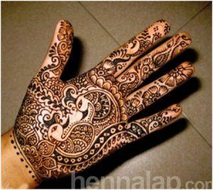 Páva henna