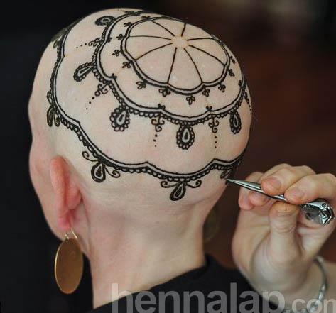 Hennafestés kemoterápiás betegeknek.