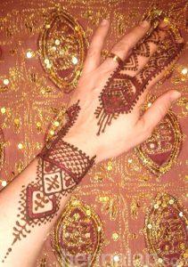Kéz henna 2