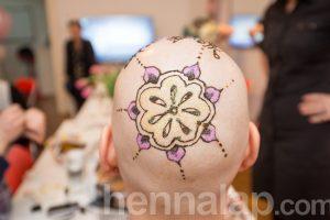 Remény & Szépség napja a CsillámVilág-ban. Hennafestő: Bernáth Evelin