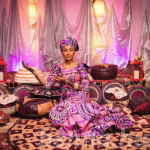 Zahra Buhari's colourful night of henna