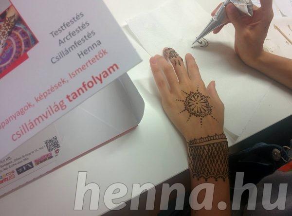 Hennafestés tábor, Csillámvilág
