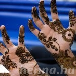 Dubai beauty salons using black henna face fines and closure