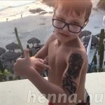 Boy left with burn-like scars from henna tattoo in Mexico