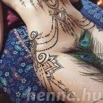 Erotikus henna egy orosz hennafestő művésztől